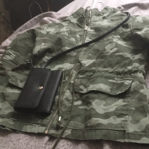 709af2db808a7 Old Navy Jackets & Coats | Army Fatigue Jacket With Free Small ...